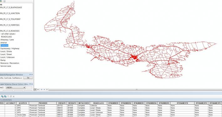 National Road Network (NRN) Data