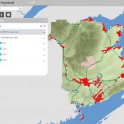 The GeoNB New Brunswick Imagery App