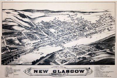 New Glagow Nova Scotia - Historical Maps of Nova Scotia