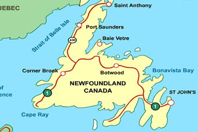 Newfoundland GIS jobs