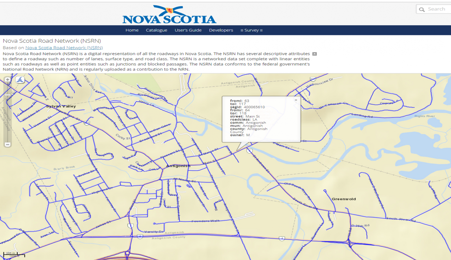 Sources of Nova Scotia Geospatial Data - Canadian Geographic Resources