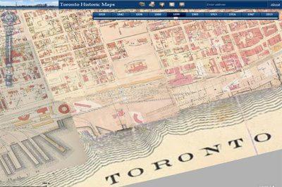 Online Toronto Historic Maps comparison tool