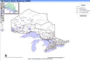 Ontario Topographic Data - Ontario Base Mapping Download Site