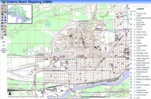 Ontario Topographic Data - Ontario Base Mapping - Thunder Bay