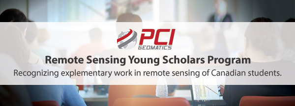 PCI Geomatics Young Scholars Program