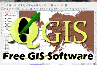 QGIS --- Free-GIS-software