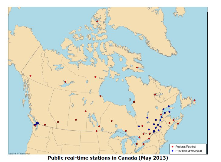 Public Real Time Networks in Canada for RTK Surveying