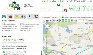 ReRouteMe Web Mapping Application