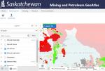 Saskatchewan Mining and Petroleum GeoAtlas