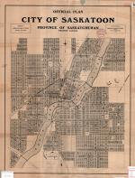 Saskatoon 1926 Map