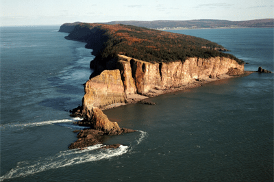 Stunning High Resolution Aerial Footage of Cape Split