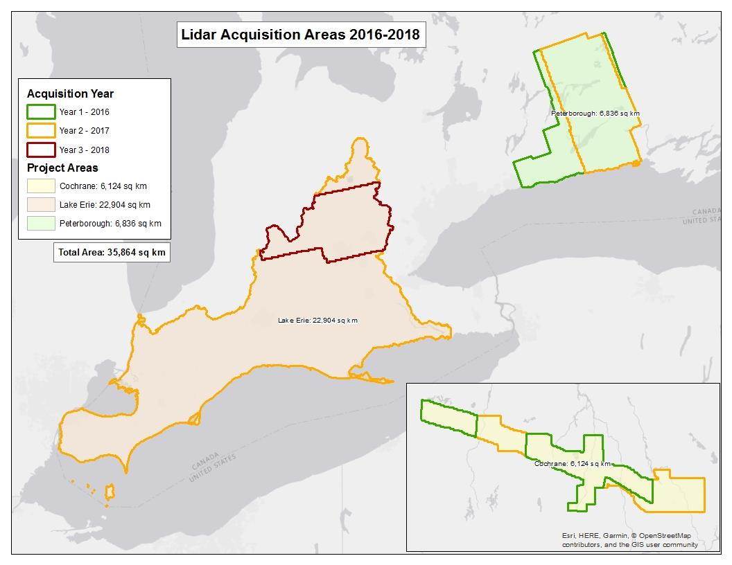 Southern Ontario Lidar Points