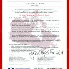 St.Johns Declaration