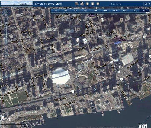 Toronto Historic Maps