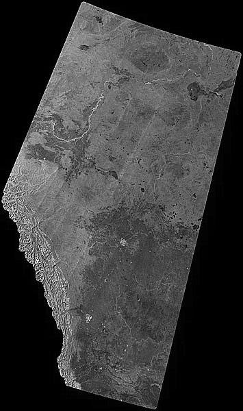 Alberta RADARSAT Mosaic