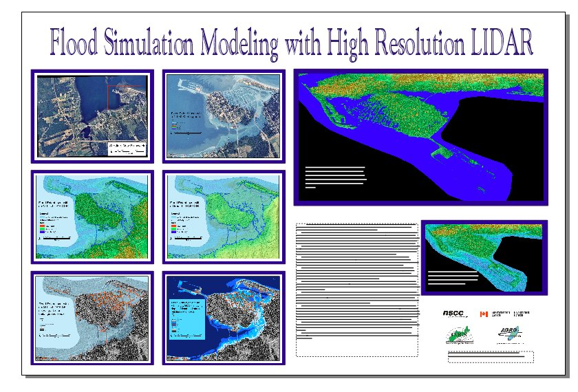 Centre of Geographic Sciences (COGS) - Flood Simulation Modeling with High Resolution LIDAR