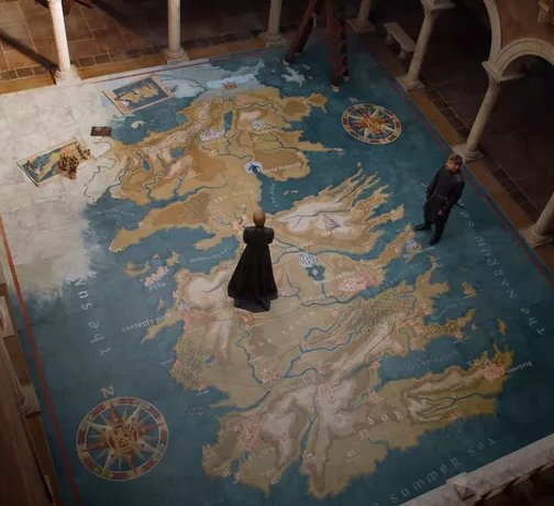 Game of Thrones Maps