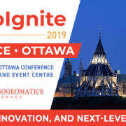 GeoIgnite 2019, a new geospatial national conference for Canada!