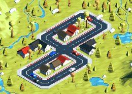 3d model map