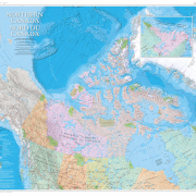Northern Canada Map
