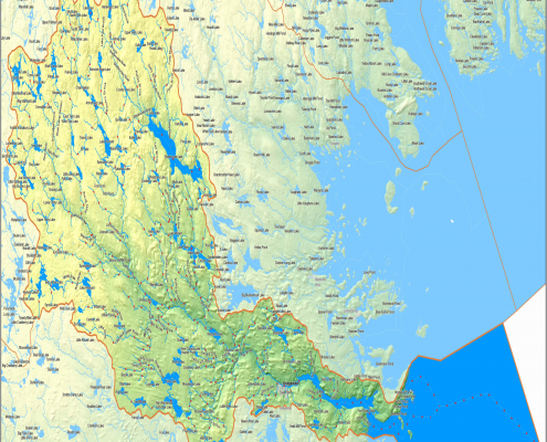 National Hydro Network (NHN) maps and open data