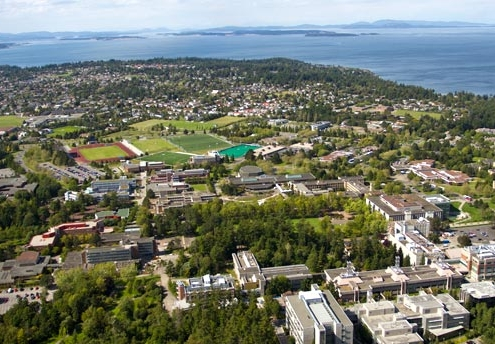 University of Victoria in British Columbia